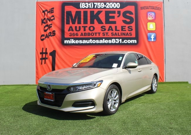 Used 2019 Honda Accord Sedan LX 1.5T CVT in Salinas, CA
