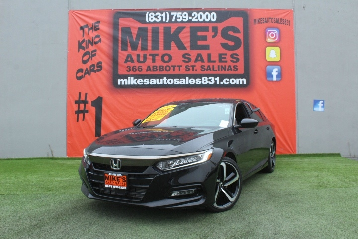 Used 2019 Honda Accord Sedan Sport 1.5T CVT in Salinas, CA