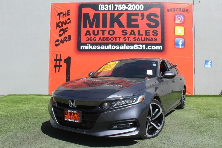 Used 2018 Honda Accord Sedan Sport CVT in Salinas, CA