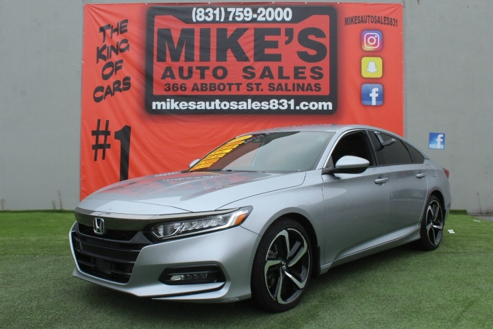 Used 2019 Honda Accord Sedan Sport 1.5T CVT in Salinas, CA