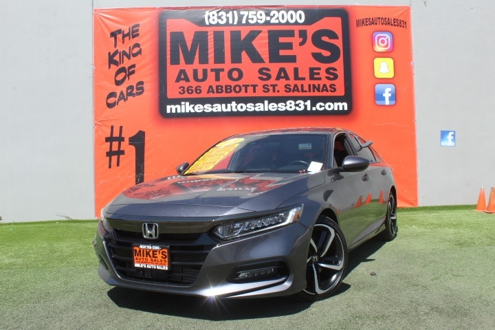 Used 2020 Honda Accord Sedan Sport 1.5T CVT in Salinas, CA