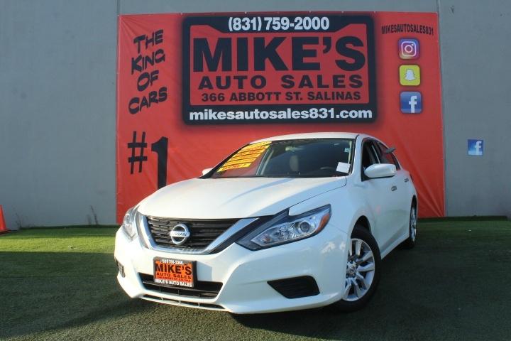 Used 2018 Nissan Altima 2.5 SR Sedan in Salinas, CA