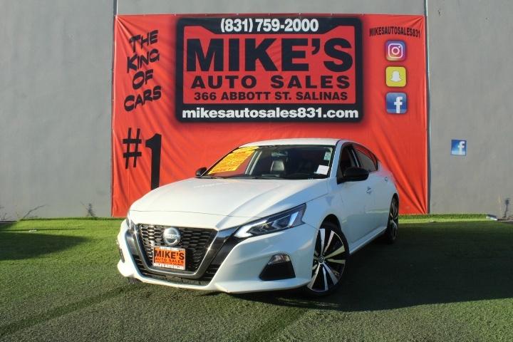 Used 2019 Nissan Altima 2.5 SR Sedan in Salinas, CA