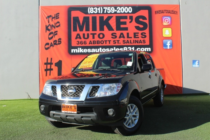 Used 2018 Nissan Frontier Crew Cab 4x2 SV V6 Auto in Salinas, CA