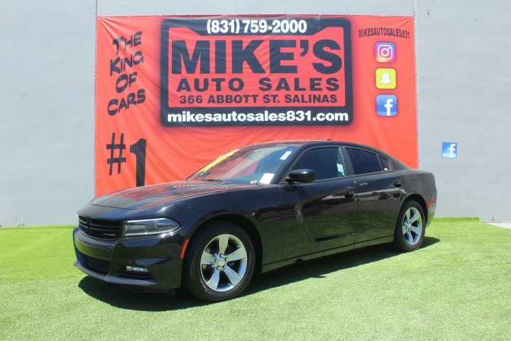 Used 2018 Dodge Charger SXT Plus RWD in Salinas, CA