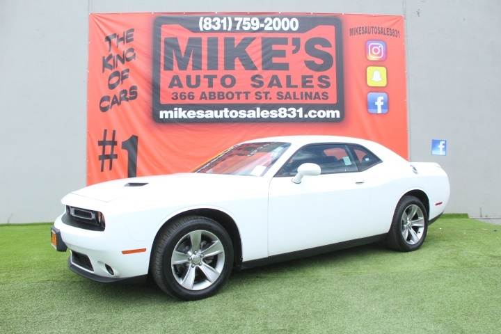 Used 2019 Dodge Challenger SXT RWD in Salinas, CA