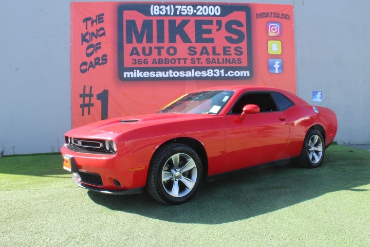 Used 2016 Dodge Challenger 2dr Cpe SXT in Salinas, CA