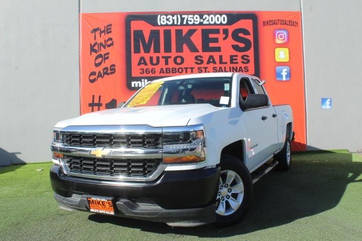 Used 2019 Chevrolet Silverado 1500 LD 2WD Double Cab Work Truck in Salinas, CA