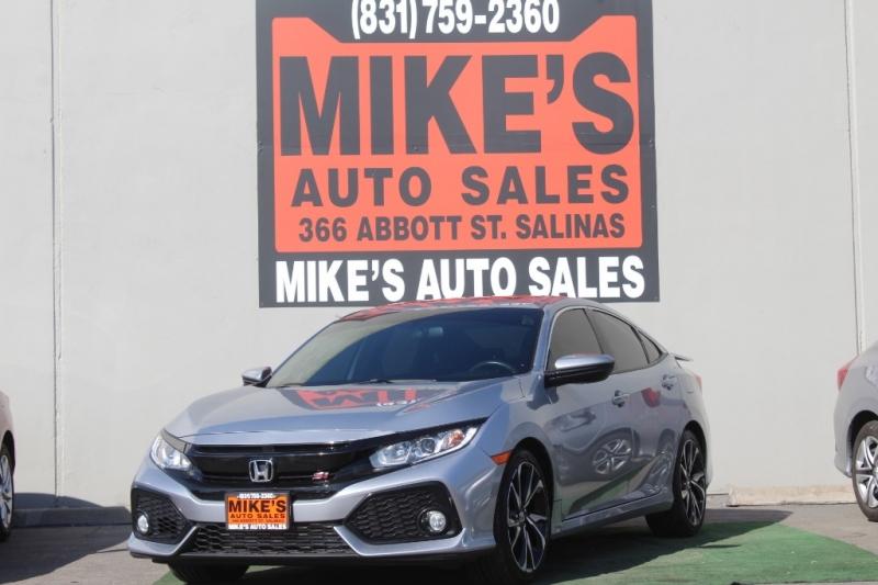 2018 Honda Civic Si Sedan Manual in Salinas, CA