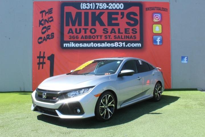 Used 2017 Honda Civic Sedan Si Manual in Salinas, CA
