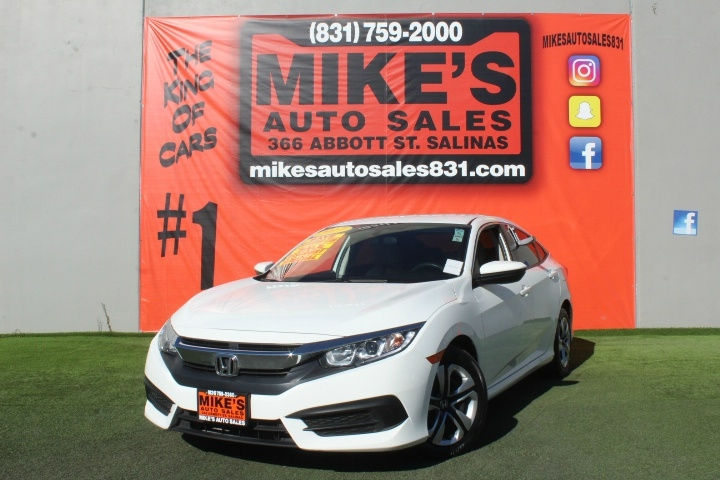 Used 2017 Honda Civic Sedan LX CVT in Salinas, CA