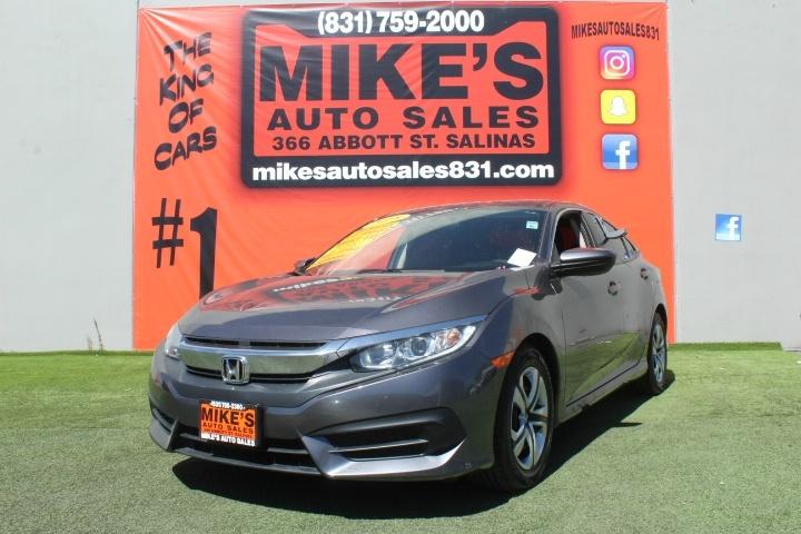 Used 2018 Honda Civic Sedan LX CVT in Salinas, CA
