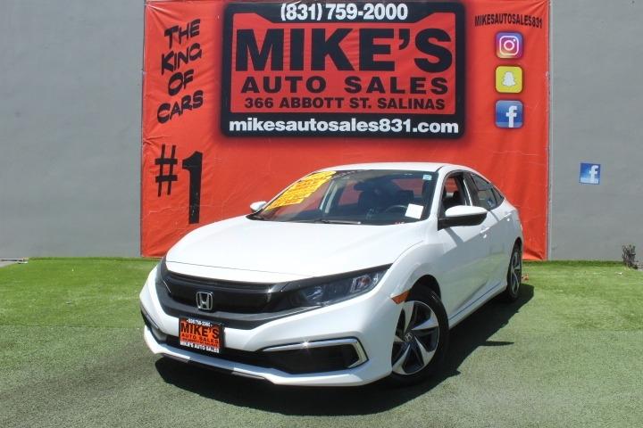 Used 2019 Honda Civic Sedan LX CVT in Salinas, CA