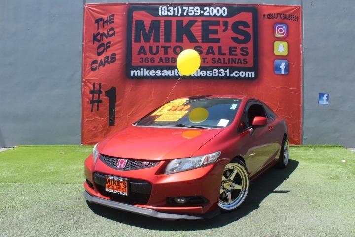 Used 2013 Honda Civic Cpe 2dr Man Si in Salinas, CA
