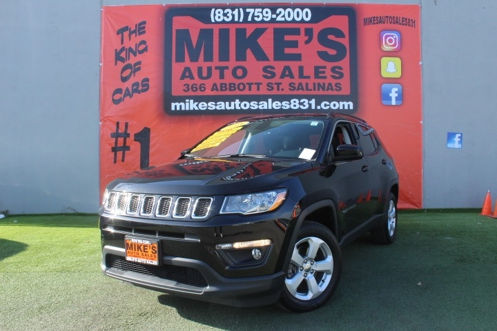 Used 2018 Jeep Compass Altitude FWD in Salinas, CA