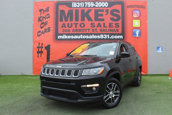 Used 2019 Jeep Compass Latitude FWD in Salinas, CA