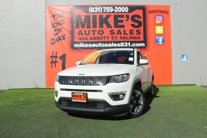 Used 2019 Jeep Compass Limited FWD in Salinas, CA