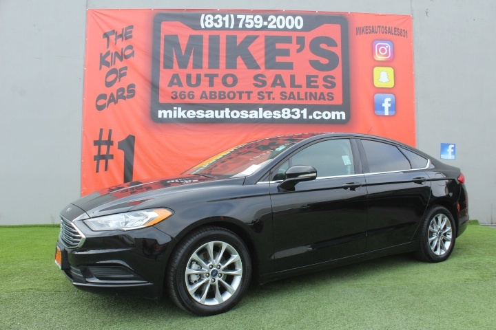 Used 2017 Ford Fusion SE FWD in Salinas, CA
