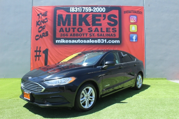 Used 2018 Ford Fusion Hybrid SE FWD in Salinas, CA
