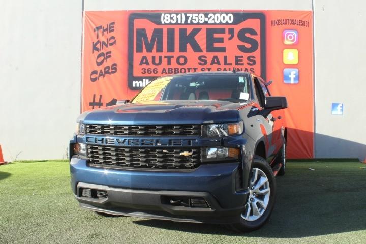 Used 2020 Chevrolet Silverado 1500 2WD Crew Cab 147  Custom in Salinas, CA