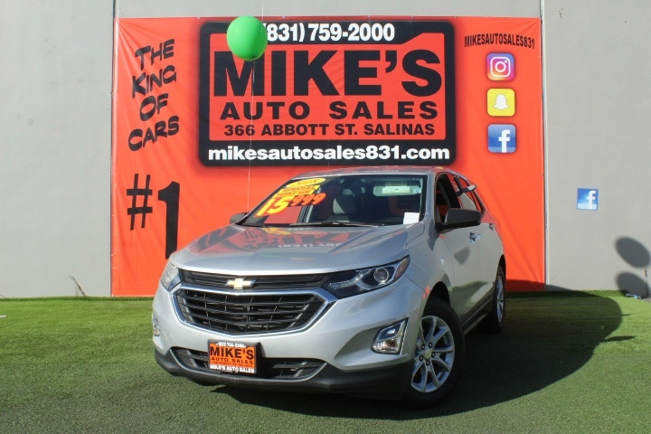 Used 2018 Chevrolet Equinox FWD 4dr LS w/1LS in Salinas, CA