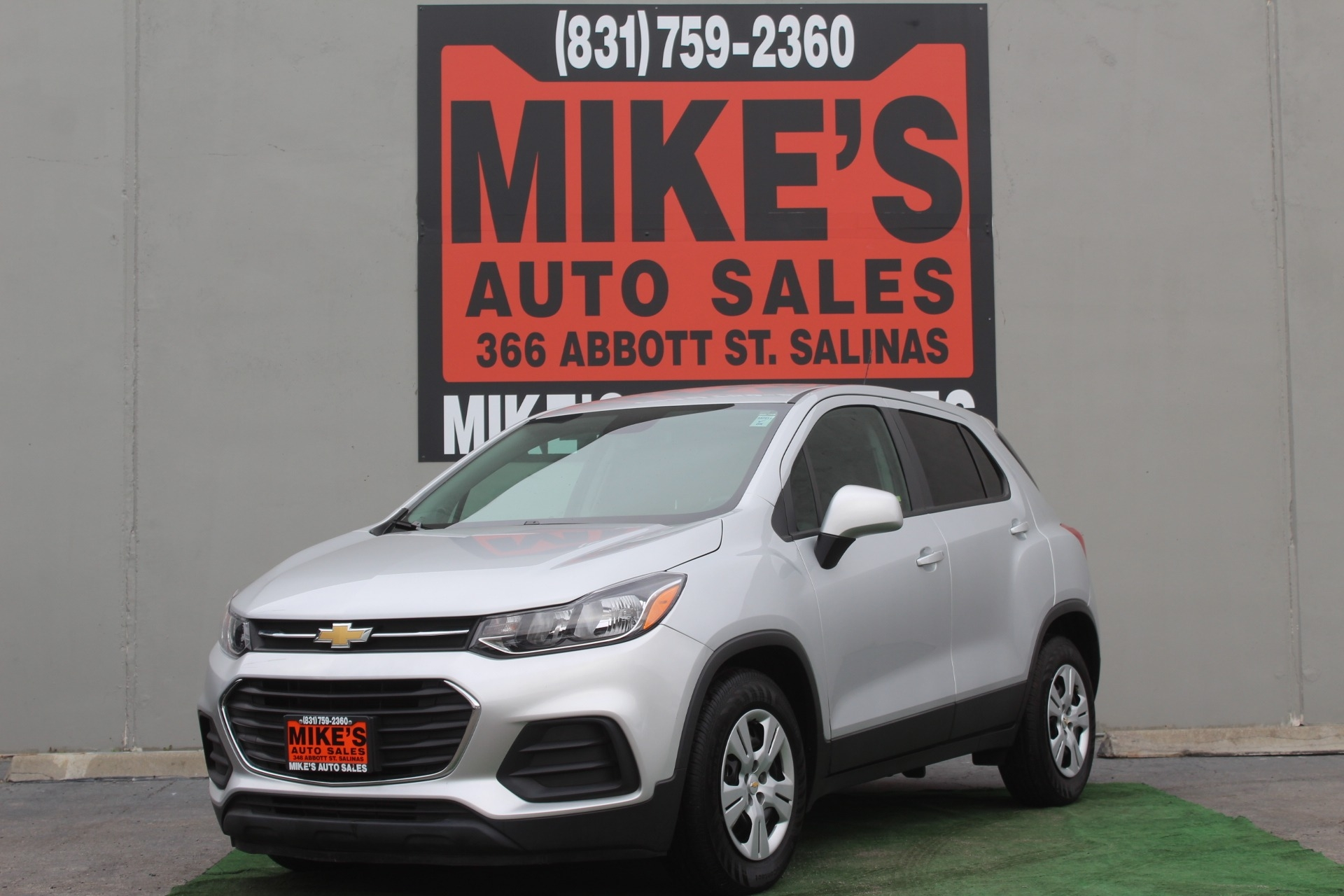 2017 Chevrolet Trax FWD 4dr LS in Salinas, CA