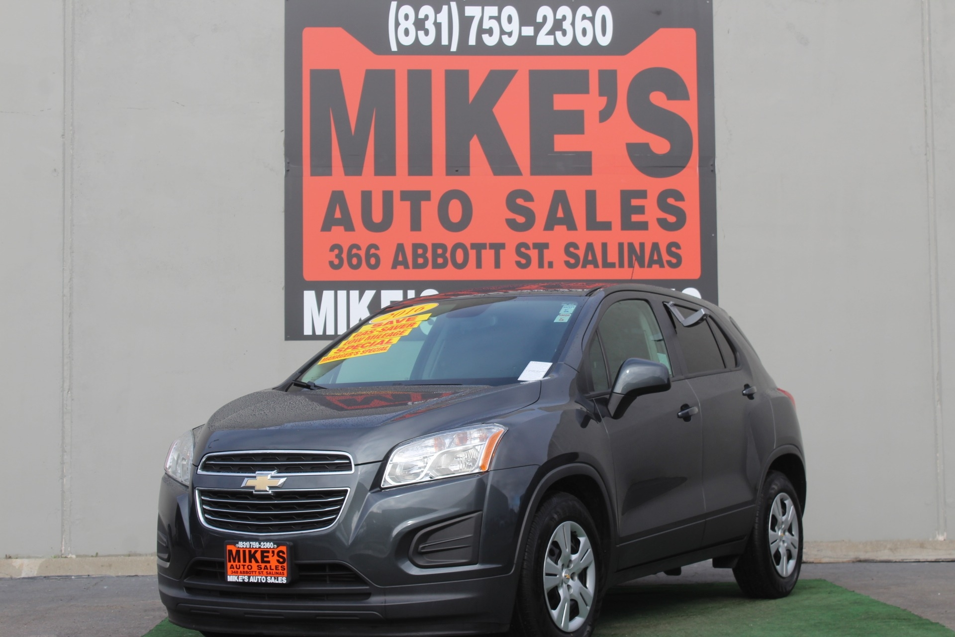 Used 2016 Chevrolet Trax FWD 4dr LS in Salinas, CA
