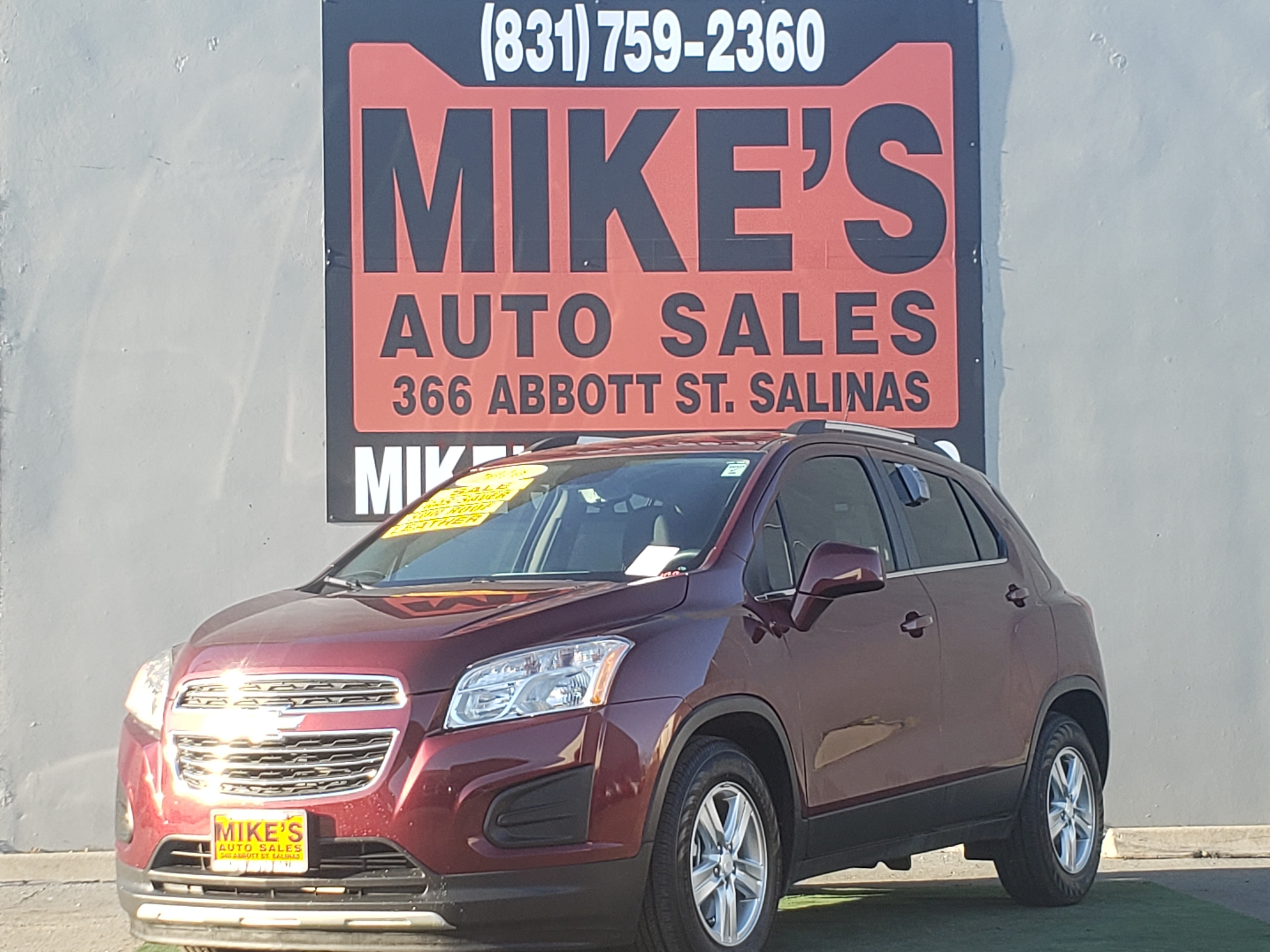 2016 Chevrolet Trax FWD 4dr LT in Salinas, CA