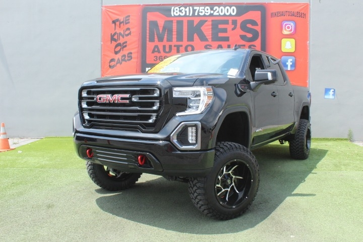Used 2021 GMC Sierra 1500 4WD Crew Cab 147  AT4 in Salinas, CA