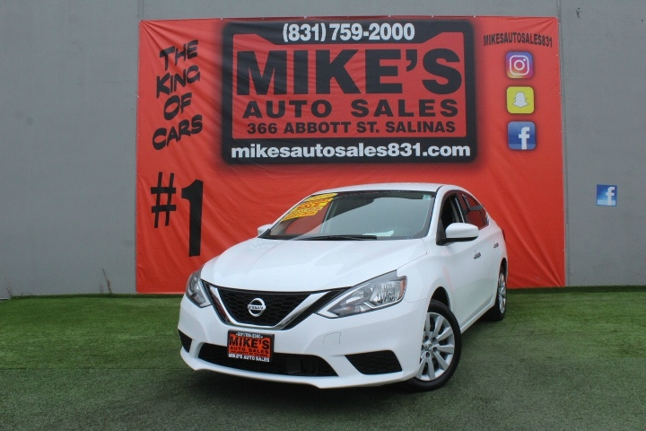 Used 2019 Nissan Sentra S Manual in Salinas, CA