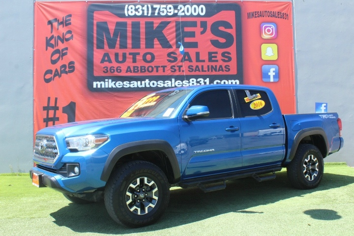 Used 2016 Toyota Tacoma 2WD Double Cab V6 AT SR5 in Salinas, CA