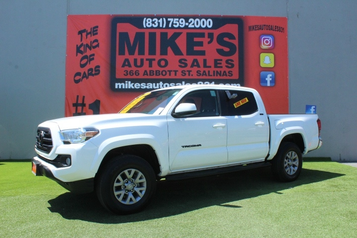 Used 2019 Toyota Tacoma 2WD SR5 Double Cab 5 Bed V6 AT in Salinas, CA