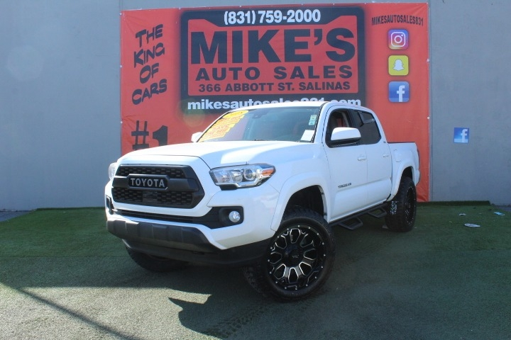 Used 2018 Toyota Tacoma SR5 Double Cab 5 Bed V6 4x2 AT in Salinas, CA