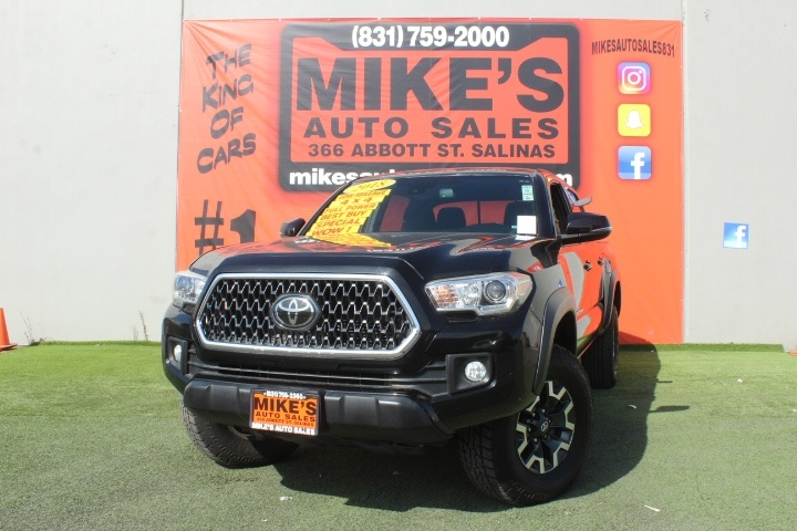 Used 2018 Toyota Tacoma SR Double Cab 5 Bed V6 4x4 AT in Salinas, CA