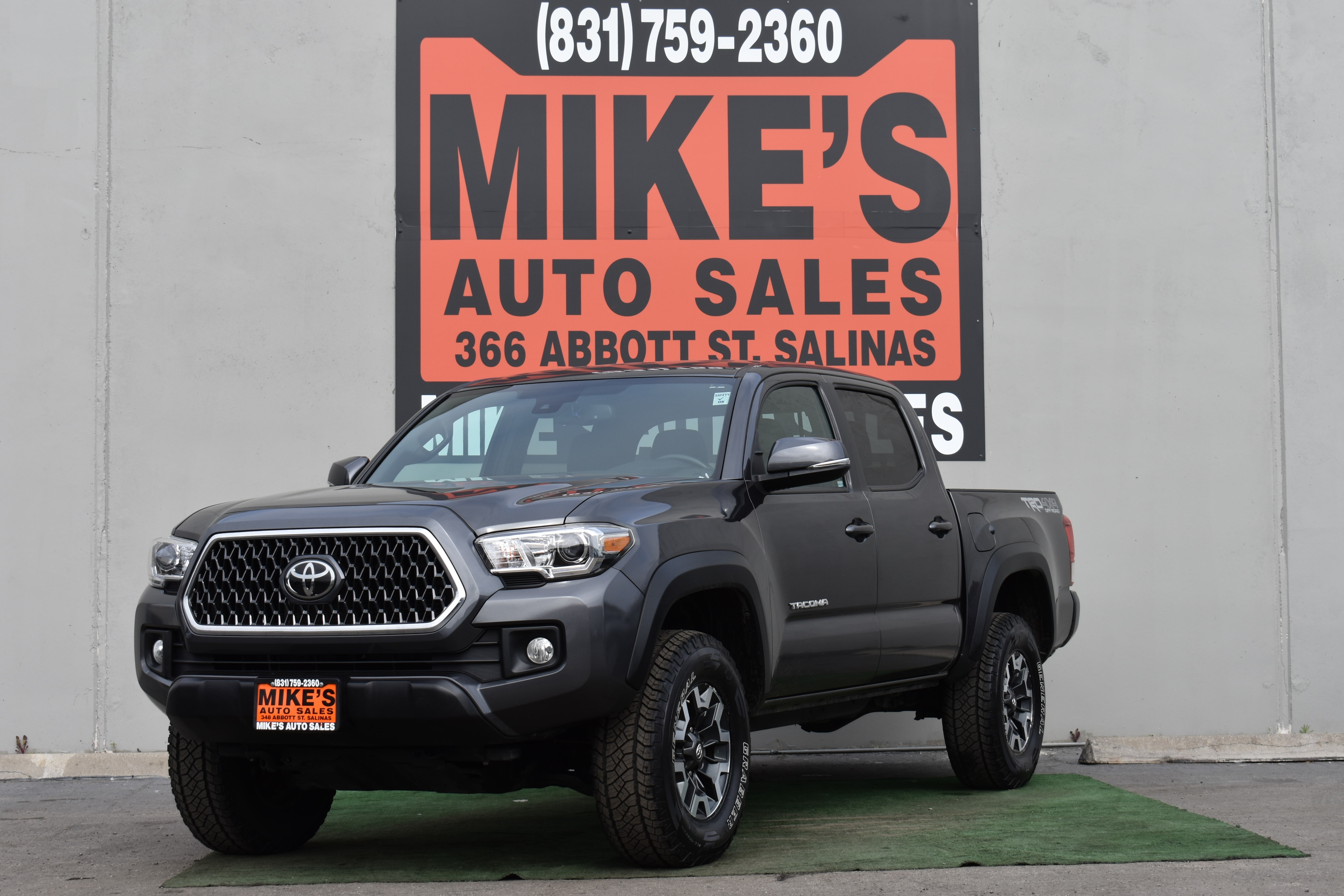 2018 Toyota Tacoma SR Double Cab 5 Bed V6 4x4 AT in Salinas, CA