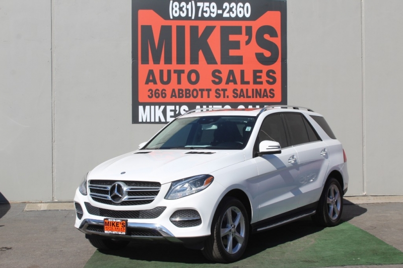 Used 2016 Mercedes-Benz GLE 4MATIC 4dr GLE 350 in Salinas, CA