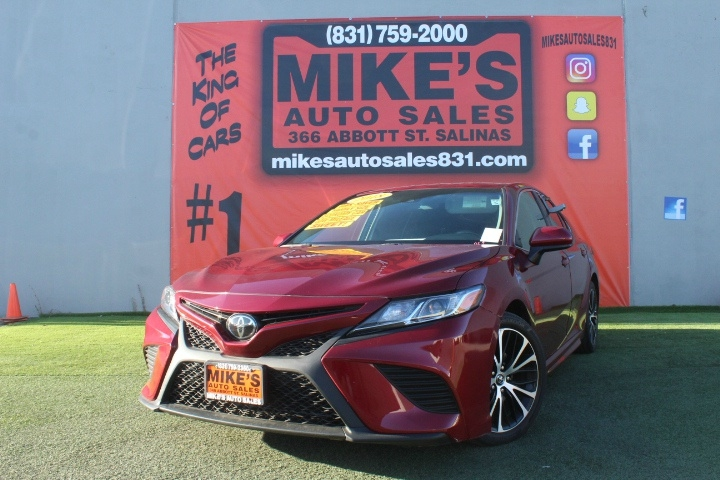 Used 2018 Toyota Camry LE Auto in Salinas, CA