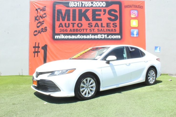 Used 2019 Toyota Camry LE Auto in Salinas, CA