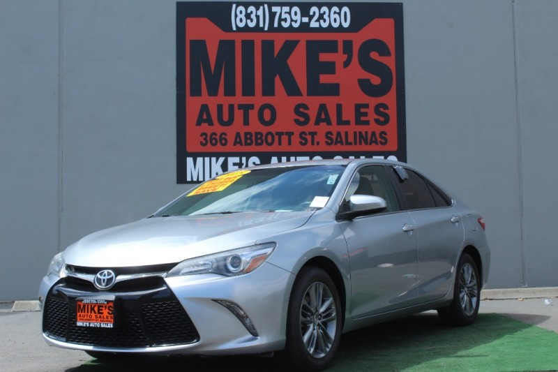 2015 Toyota Camry 4dr Sdn I4 Auto SE in Salinas, CA