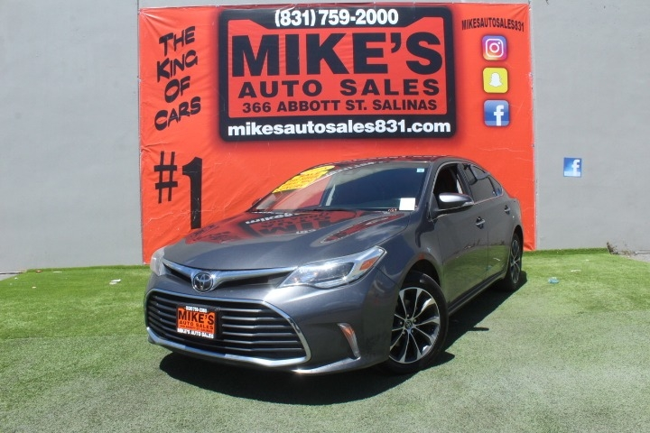 Used 2018 Toyota Avalon XLE in Salinas, CA