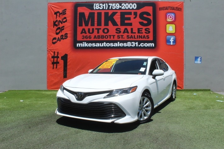 Used 2020 Toyota Camry LE Auto in Salinas, CA