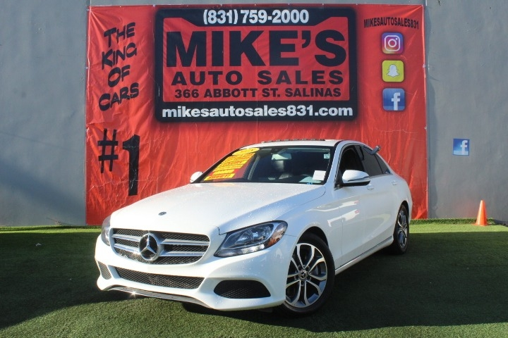 Used 2018 Mercedes-Benz C-Class C 300 Sedan in Salinas, CA