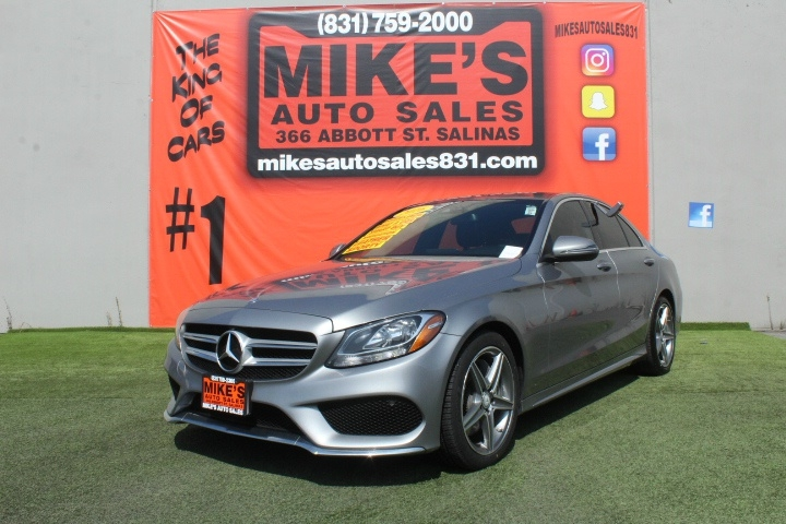 Used 2016 Mercedes-Benz C-Class 4dr Sdn C 300 RWD in Salinas, CA