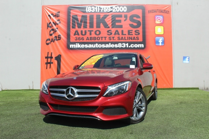 Used 2017 Mercedes-Benz C-Class C 300 Sedan in Salinas, CA