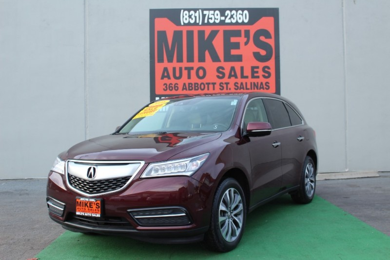 Used 2016 Acura MDX FWD 4dr w/Tech in Salinas, CA