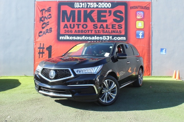 Used 2018 Acura MDX FWD w/Technology Pkg in Salinas, CA