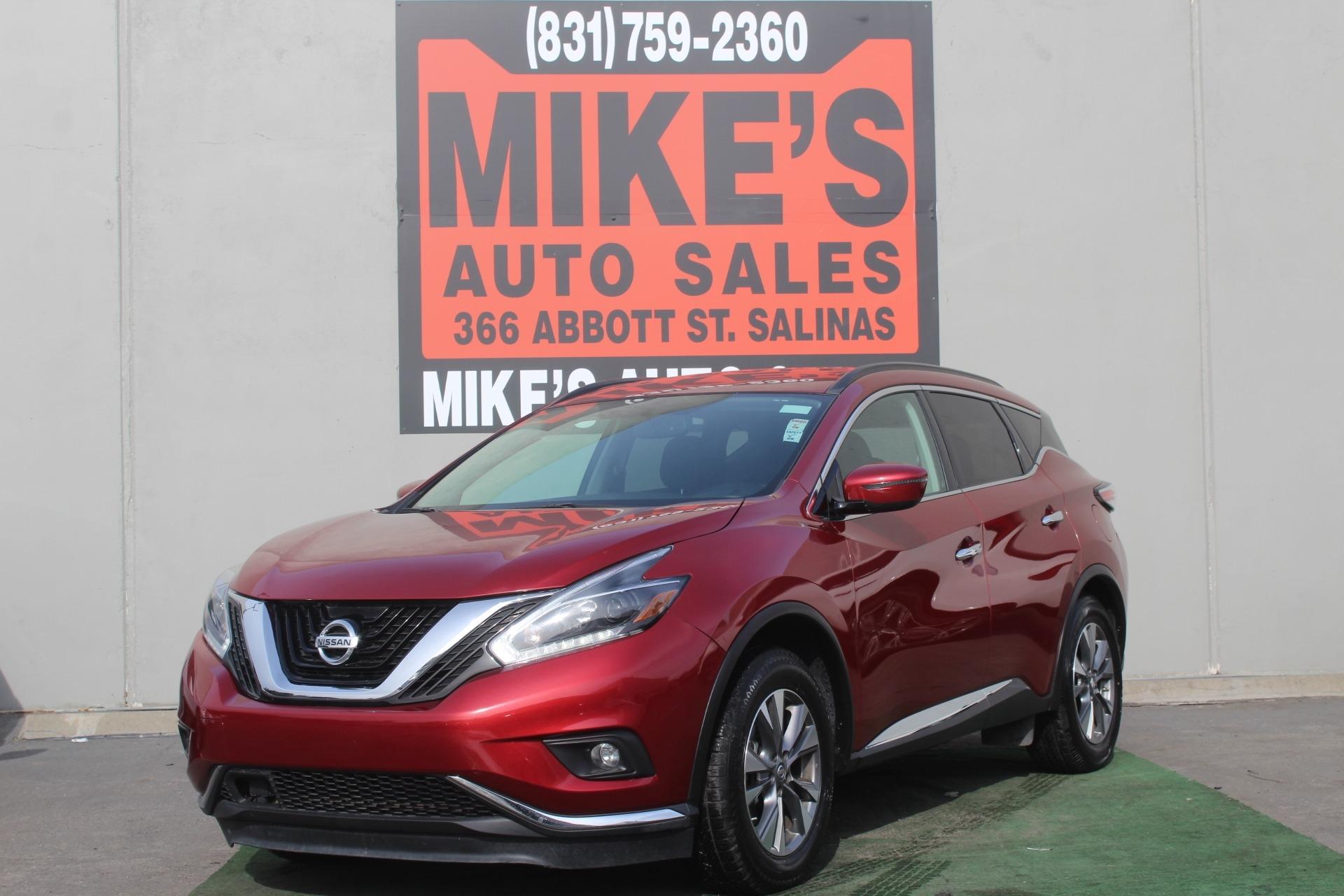 2018 Nissan Murano FWD S in Salinas, CA