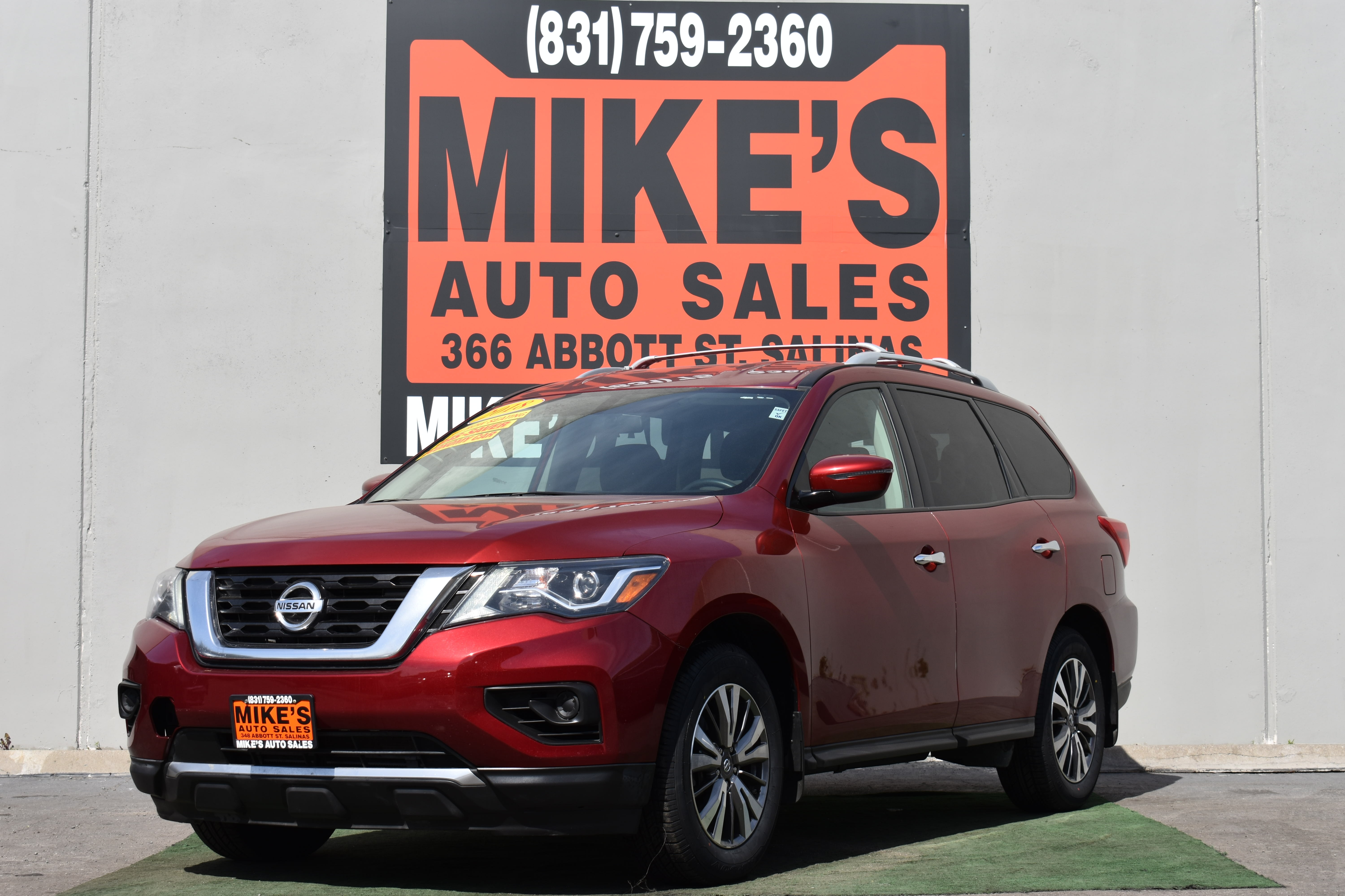 Used 2018 Nissan Pathfinder FWD SL in Salinas, CA