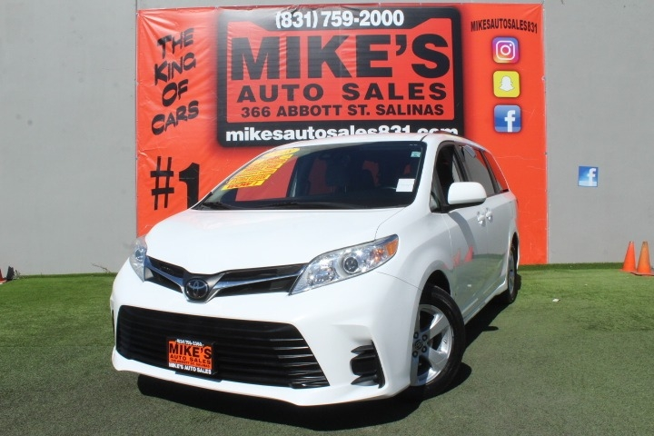 Used 2018 Toyota Sienna LE 8-Passenger FWD in Salinas, CA