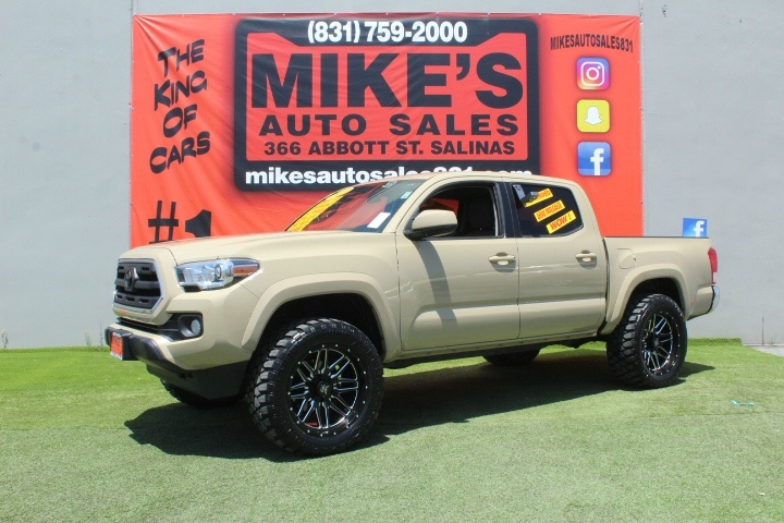 Used 2017 Toyota Tacoma SR Double Cab 5 Bed I4 4x2 AT in Salinas, CA